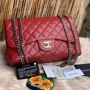 ❤️❤️Chanel Red classy Flap Bag ❤️❤️